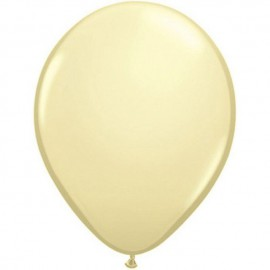 "Globos redondos de 11"" Ivory Silk Qualatex"