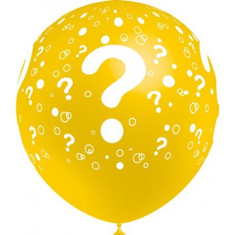 """Globos de 12"""" Interrogacion Balloonia"""