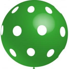 Globos gigantes de 3FT Lunares Verde