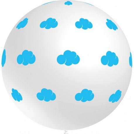Globos gigantes de 3FT Nubes Blanco