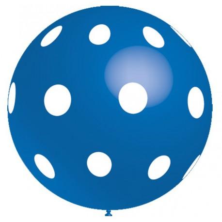 Globos gigantes de 3FT Lunares Azul