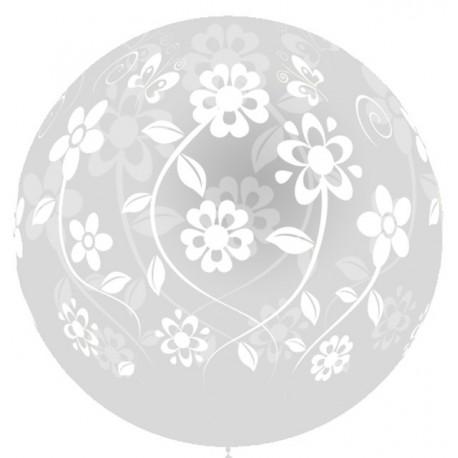 Globos gigantes de 3FT Flores Boda