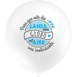 """Globos de 12"""" Lanza al Aire Azul"""