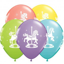 "Globos de 11"" Surtido Carrusel Qualatex"
