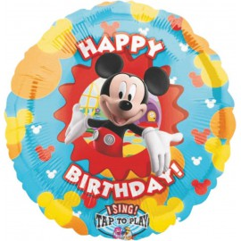 "Globos de foil de 36"" musical Mickey birthday"