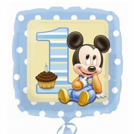 """Globos de foil de 18"""" Mickey Baby Boy"""