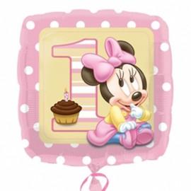 """Globos de foil de 18"""" Minnie Baby Girl"""