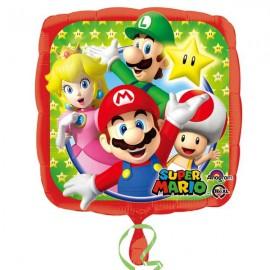 """Globos de foil 18"""" (45Cm) Super Mario"""