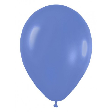 "Globos de 11"" Fashion solido Azul Hortensia Sempertex"