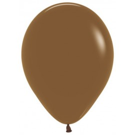 "Globos de 11"" Fashion solido CAFE Sempertex"