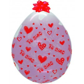"Globos de latex Stuffing 18"" TE AMO"