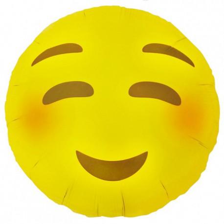 """Globos de foil de 18"""" (46Cm) Emoji Sonrojado"""