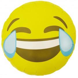 "Globos de foil de 18"" (46Cm) Emoji Llorando De Risa"