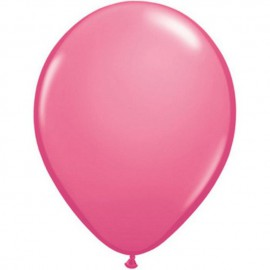 "Globos Redondos de 11"" Standard Rose Qualatex"