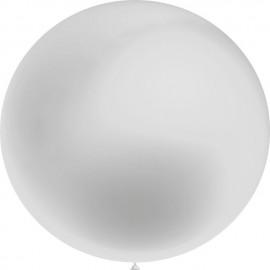 Globos 3FT (100cm) Plata Metálico Balloonia