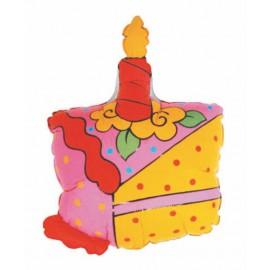 """Globos de foil de 28"""" birthday Tarta"""