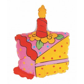 "GLOBO DE FOIL 28"" BIRTHDAY TARTA"