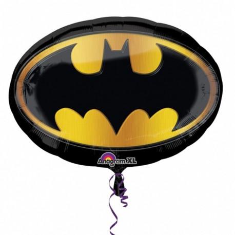 """Globos de foil supershape de 27"""" X 19"""" Batman"""