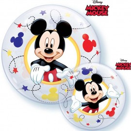 "Globos de 12"" (30Cm) Air Bubble Mickey"
