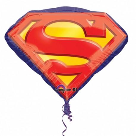 """Globos de foil supershape de 26"""" X 20"""" Superman"""