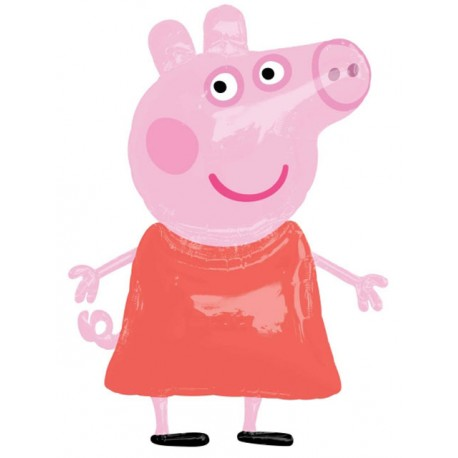 "Globos de foil de 48"" x 36"" Airwalker Peppa Pig"