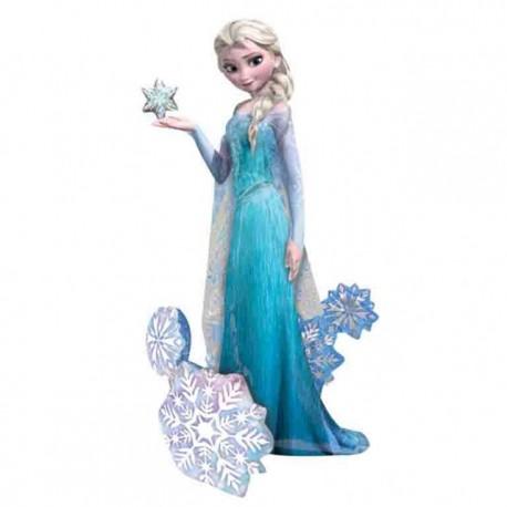 """Globos de foil de 57"""" x 35"""" Airwalker Frozen Elsa"""