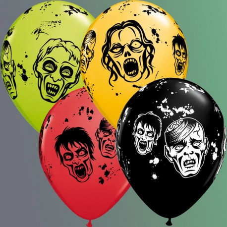 "Globos de 11"" Zombis Qualatex"