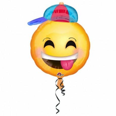 """Globos de foil 18"""" (45Cm) Smile Niño"""