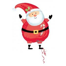"""Foil 18"""" (45Cm) Adorable Santa"""