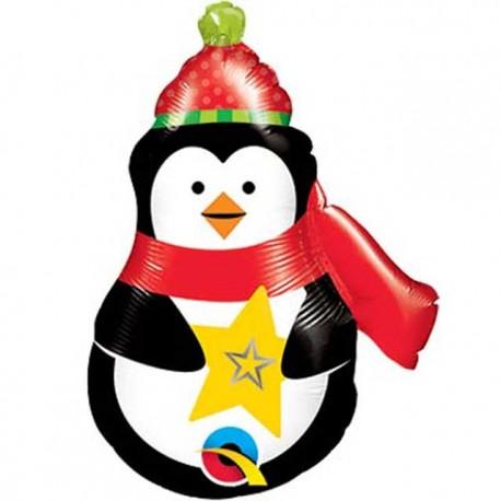 """Globos de foil de 14"""" (36Cm) Pinguino Precioso"""