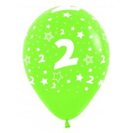 Globos R-12 (30Cm) Número 2