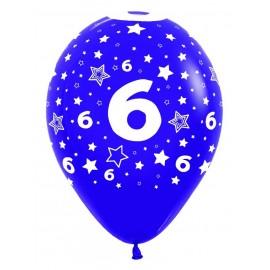 Globos R-12 (30Cm) Número 6