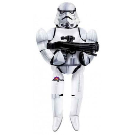 """Globos de foil de 70"""" x 33"""" Airwalker Storm Trooper"""