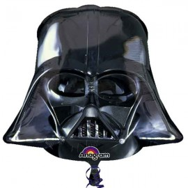 "Globos de foil supershape de 30"" X 27"" Darth Vader"