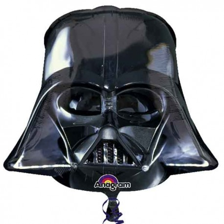 "Globos de foil supershape de 25"" X 25"" Darth Vader"