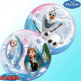 "Globos de 22"" Bubbles Frozen Disney"