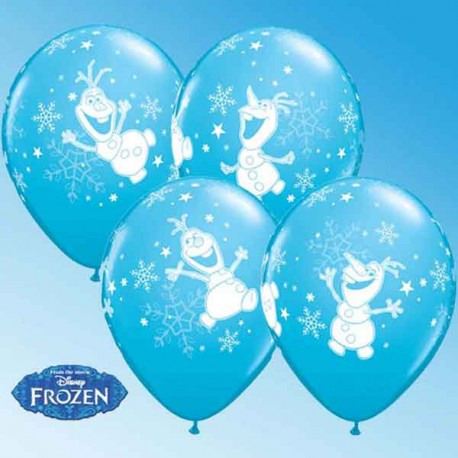 "Globos de 11"" Olaf Dancing Qualatex"