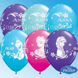 "Globos de 11"" Surtido FROZEN Qualatex"