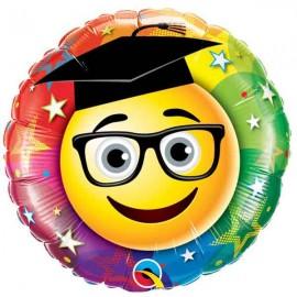 """Globos foil de 18"""" (46Cm) Graduado Sonriente"""