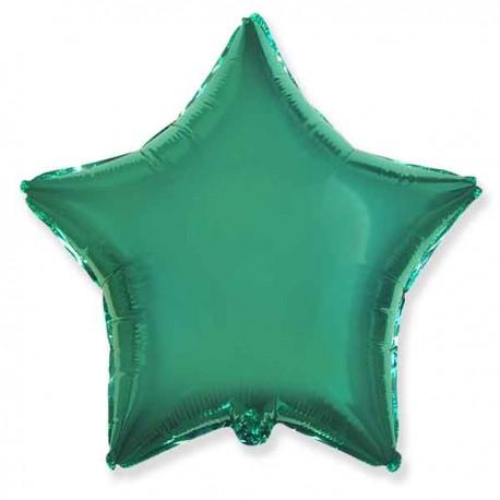 "Globos de foil Estrellas 18"" Turquesa"