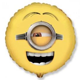 "Globos foil 18"" (45Cm) Minions Stuart Cara"