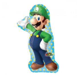 """Globos de foil supershape de 20"""" X 38"""" Luigi"""