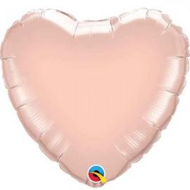 """Globos de foil corazones 36"""" Oro Dorado"""