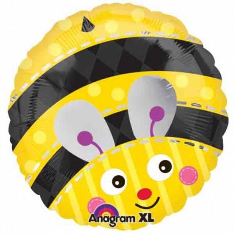 """Globos de foil 17"""" (45Cm) Lady Bug"""