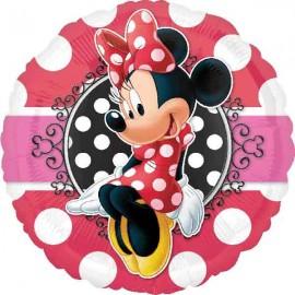 """Globos de foil 17"""" (45Cm) Minnie Mouse"""
