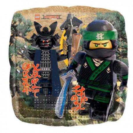 "Globos de foil 17"" (45Cm) Lego Ninjago"