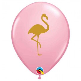 "Globos de 11"" Flamingo Rosa Qualatex"