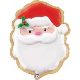 """Foil 24"""" (61Cm) Santa Claus"""