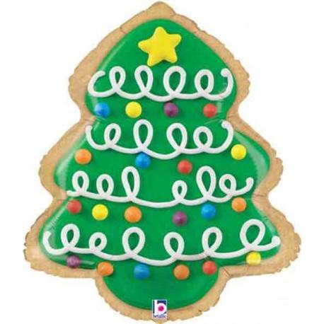 """Foil de 25"""" (63Cm) Arbol De Navidad"""