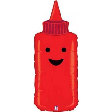 "Globos de foil de 35"" Tomate Ketchup"